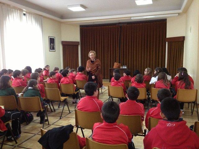 Encuentro con Blanca Álvarez