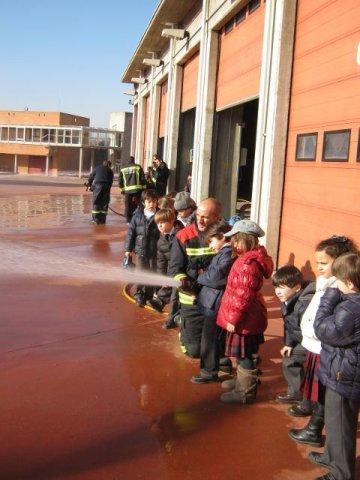 ¡Visitamos a los bomberos!