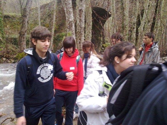 El grupo Amanecer participa en la actividad de la Ruta del Agua organizada por la diócesis de Salamanca
