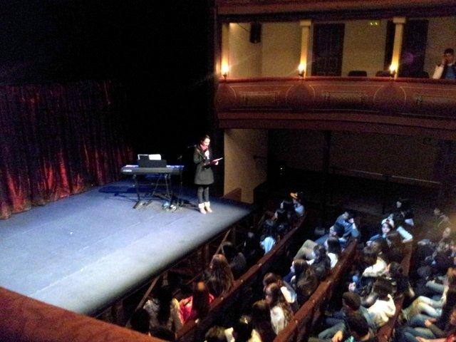Talleres de teatro de Caixaescena 2013
