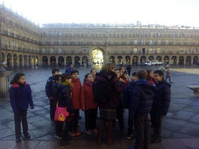 Visita al Ayuntamiento