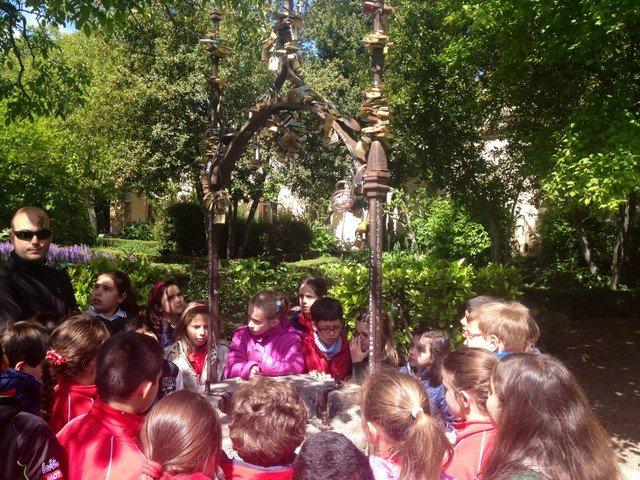 Visita al Huerto de Calixto y Melibea