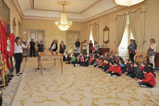 2º Infantil visita el Ayuntamiento de Salamanca