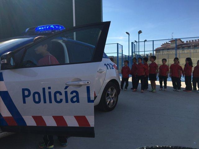 Visita de la Policía Local