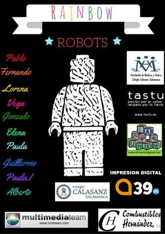 Rainbow Robot en la FLL de Valladolid