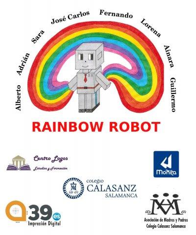 ¡El equipo Rainbow Robot gana el Premio al Trabajo en Equipo en la First Lego League!