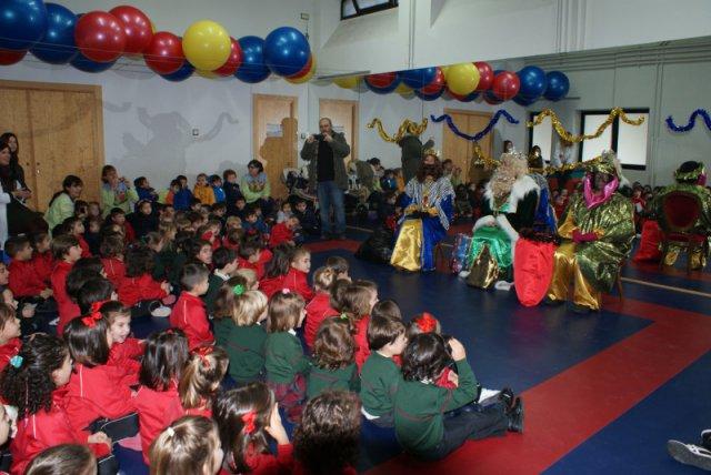¡Reyes Magos en el colegio!