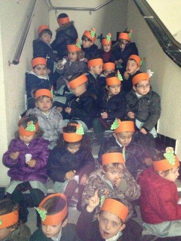 Fiesta del otoño en infantil