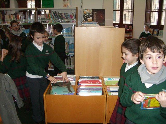Visita biblioteca Gabriel y Galán