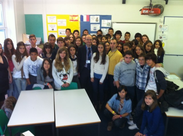 Intercambio con Backwell School. Inglaterra
