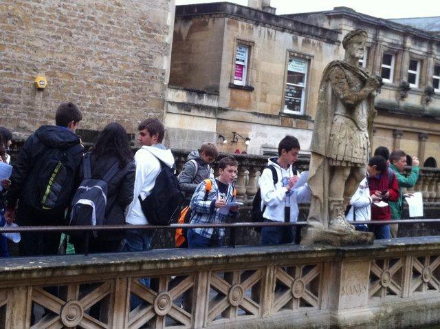 Intercambio con Backwell School. Inglaterra