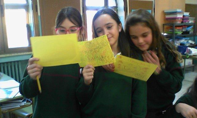 Intercambio postal con alumnos ingleses
