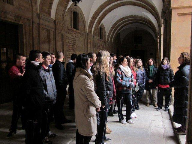 4º ESO A visita la Universidad Pontificia