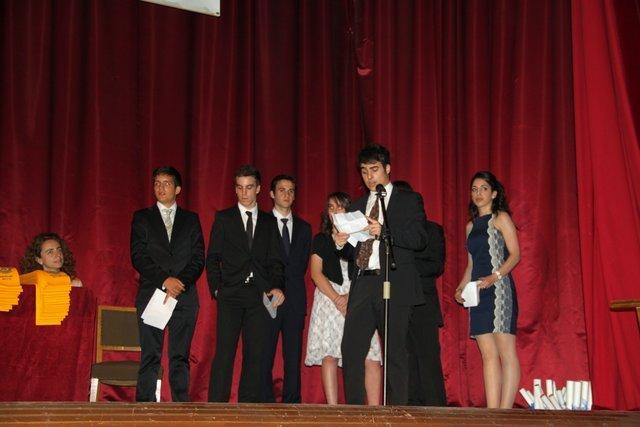 Graduación de 2º Bachillerato