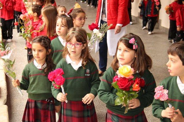 Mayo, Flores, María