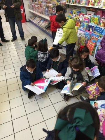Infantil hace la compra