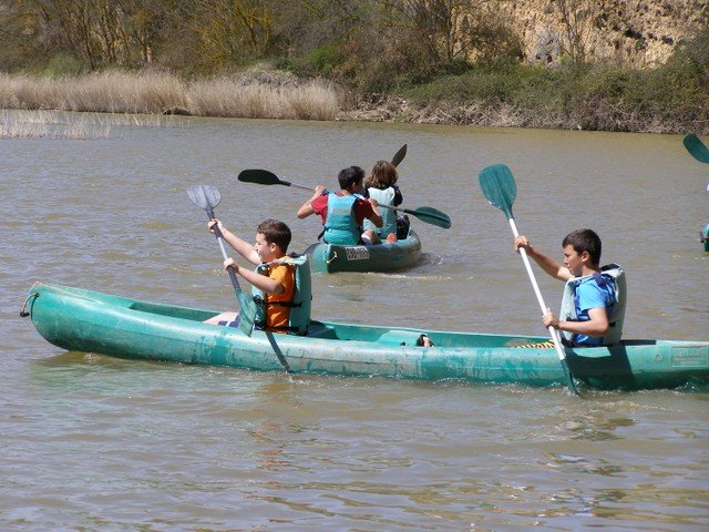 3º ESO en las Hoces del río Duratón