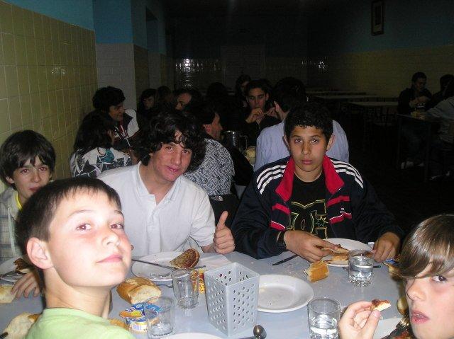 Los alumnos internos viajan a Cantabria