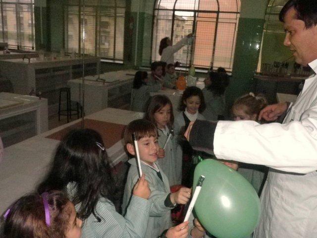 Científicos de 3º de Infantil