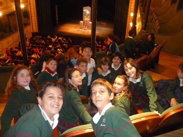 Nos fuimos al teatro… (5º Primaria)