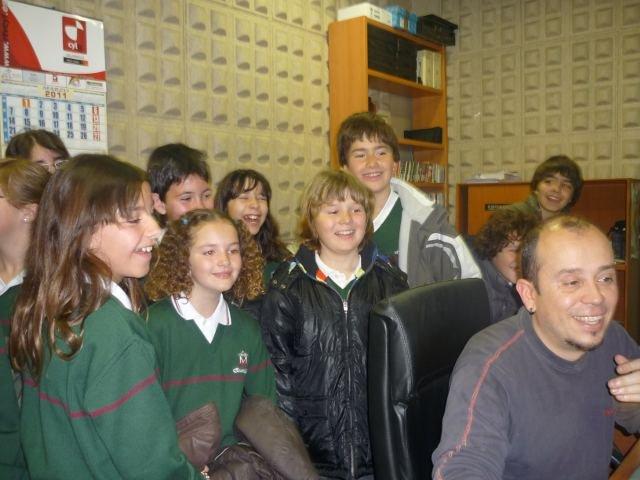 Visita a Punto Radio y a la televisión de Castilla y León
