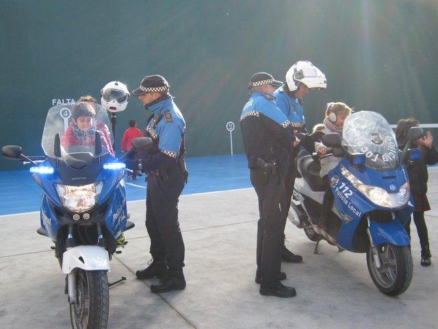 Policías por un día