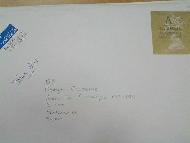 Mensajes desde Inglaterra