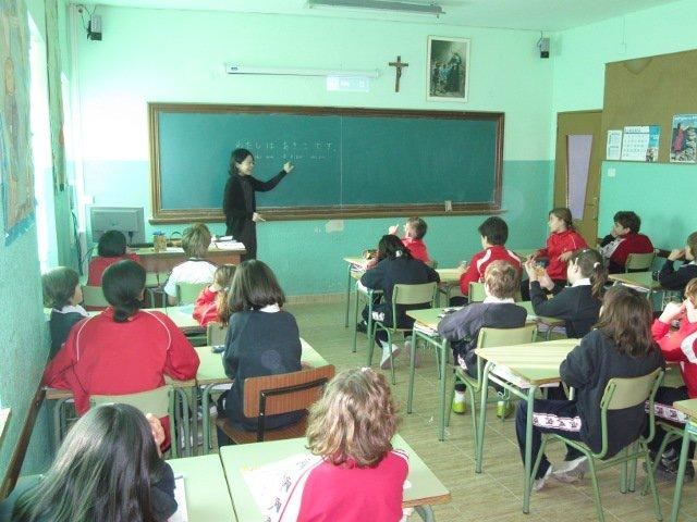 La visita de Akiko, una profesora de japonés muy especial
