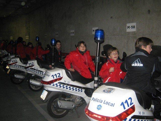 Visita a la Policía Local