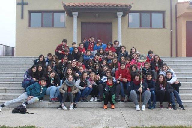 Convivencia del Grupo Scout Calasanz
