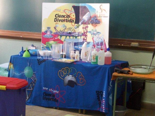 Nos divertimos con la ciencia en 2º de Primaria