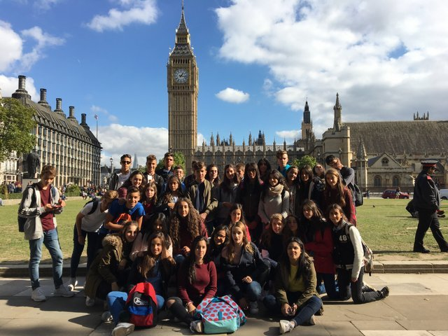 Intercambio escolar en Inglaterra