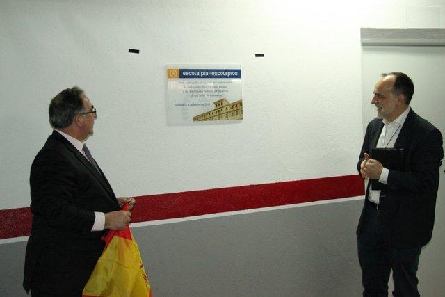 Inauguración de las instalaciones deportivas y el parking
