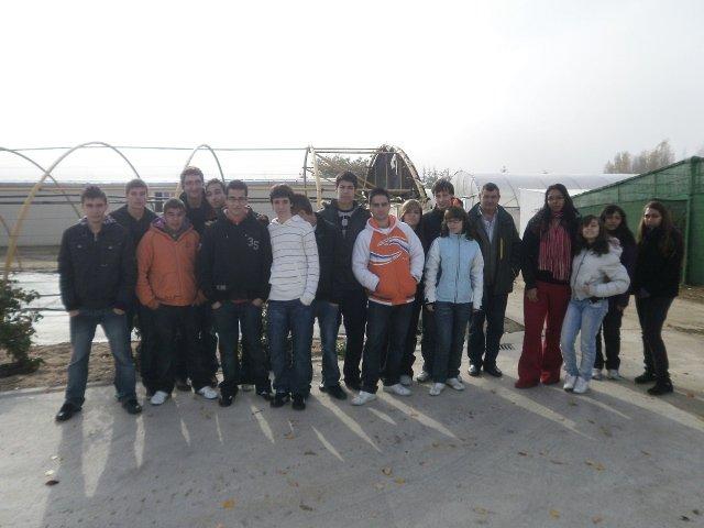 Los alumnos de diversificación en la Semana de la Ciencia 2009