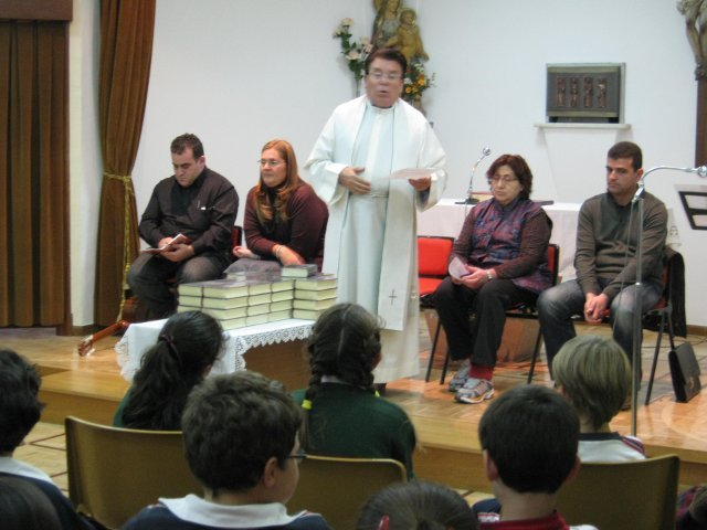 Celebración de entrega de la Biblia