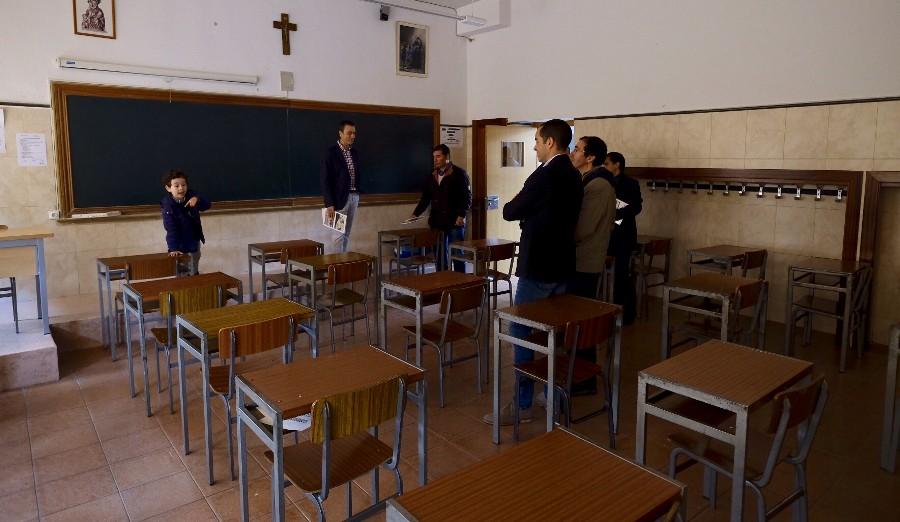 Reunión de antiguos alumnos que finalizaron sus estudios hace 25 años