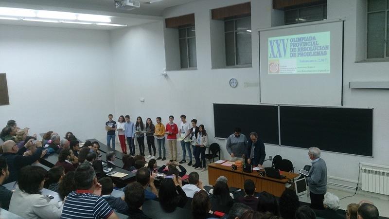 XXV Olimpiada Provincial de Matemáticas