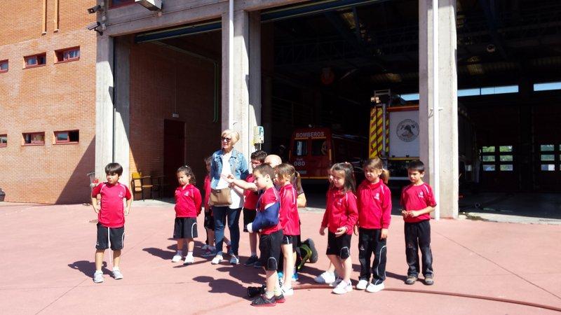 A los bomberos… ¡les encantamos!