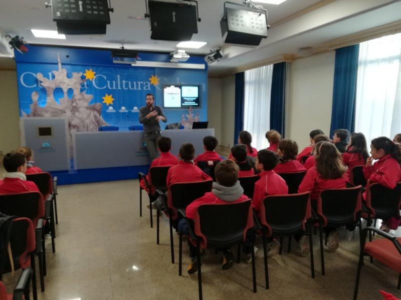 Visita al Ayuntamiento de Salamanca
