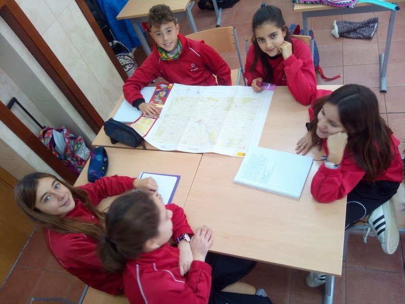 El entorno de Salamanca en Ciencias Sociales.