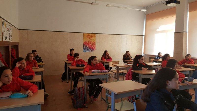 Sesión formativa de la Fundación ANAR.