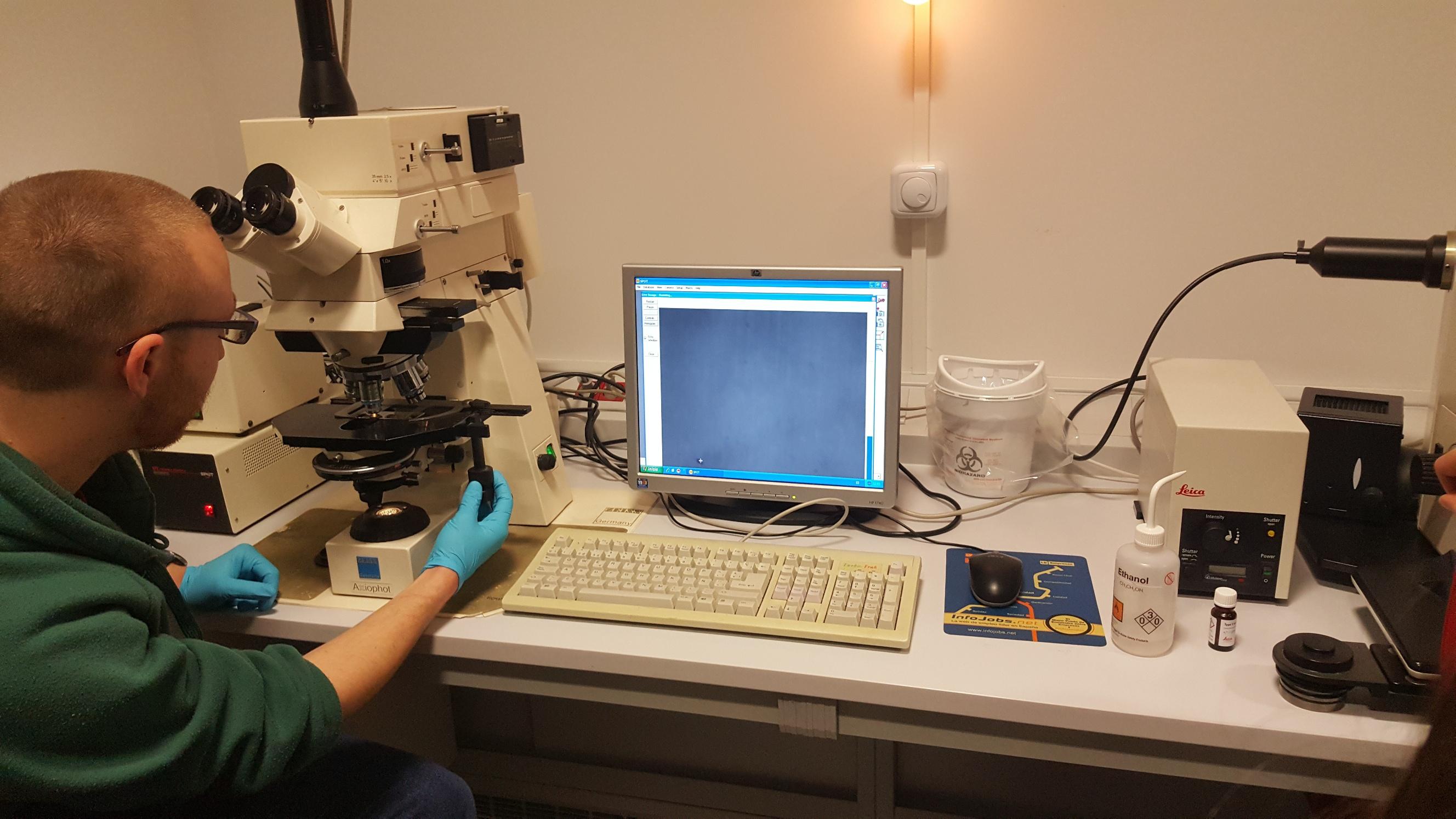 Visita al Instituto de Biología Funcional y Genómica