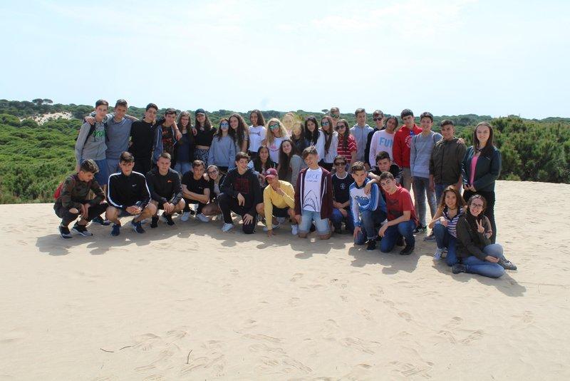 Viaje de fin de estudios de 4º ESO a Andalucía