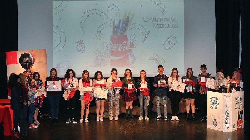 Calasanz_ Jovenes Talentos coca-cola-relato