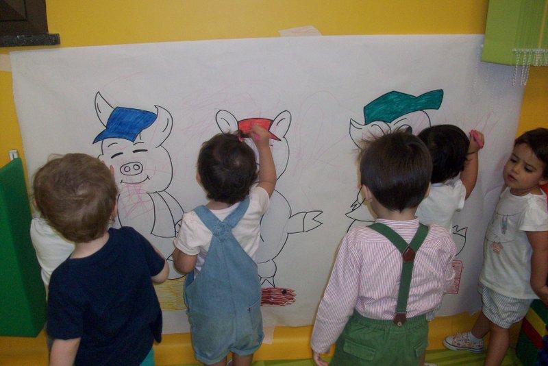 Cuentos Infantiles en Centro Abierto.