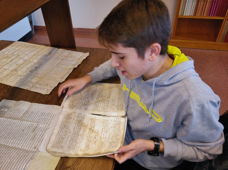 En el Archivo Diocesano