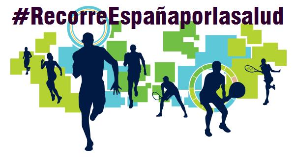 #RecorreEspañaporlasalud