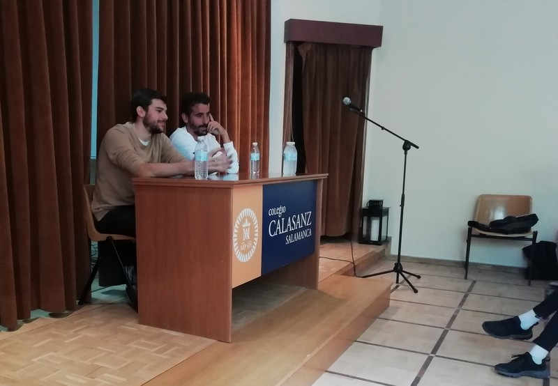 Hablamos de fútbol con Carlos de la Nava y Javier Carpio.
