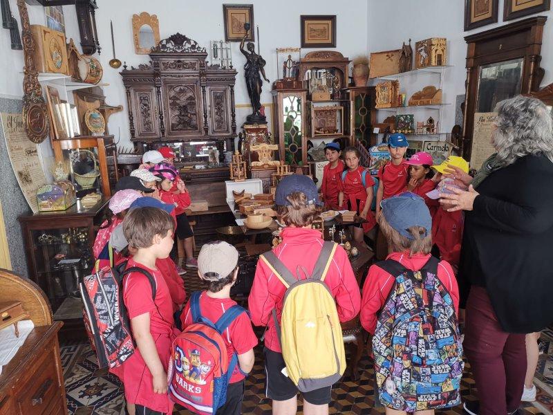 Alumnos de primaria visitan Ledesma
