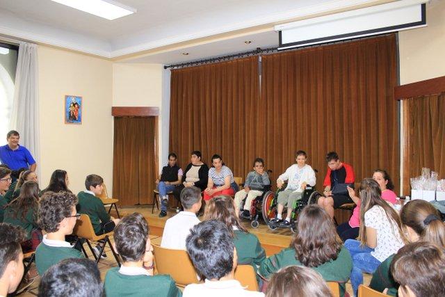 ASPACE visita el colegio Calasanz.
